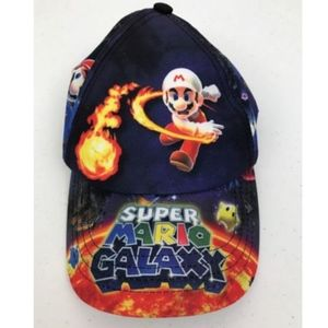 Super Mario Galaxy Kids Hat Adjustable Nintendo
